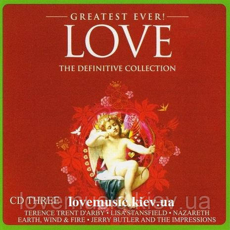 Музичний сд диск GREATEST EVER LOVE Definitive collection CD 3 (2010) (audio cd)