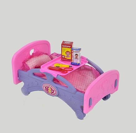 Кроватка для кукол 661-15, фото 2