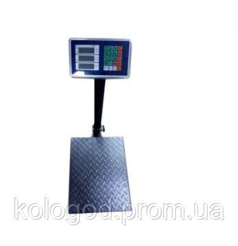 Весы Торговые ACS 1000KG 60 х 80 Напольные Весы До 1000 кг Аккумуляторные Весы Платформенные Весы
