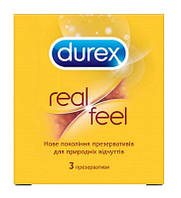 Презервативи Durex Real Feel 3  шт 5052197026689