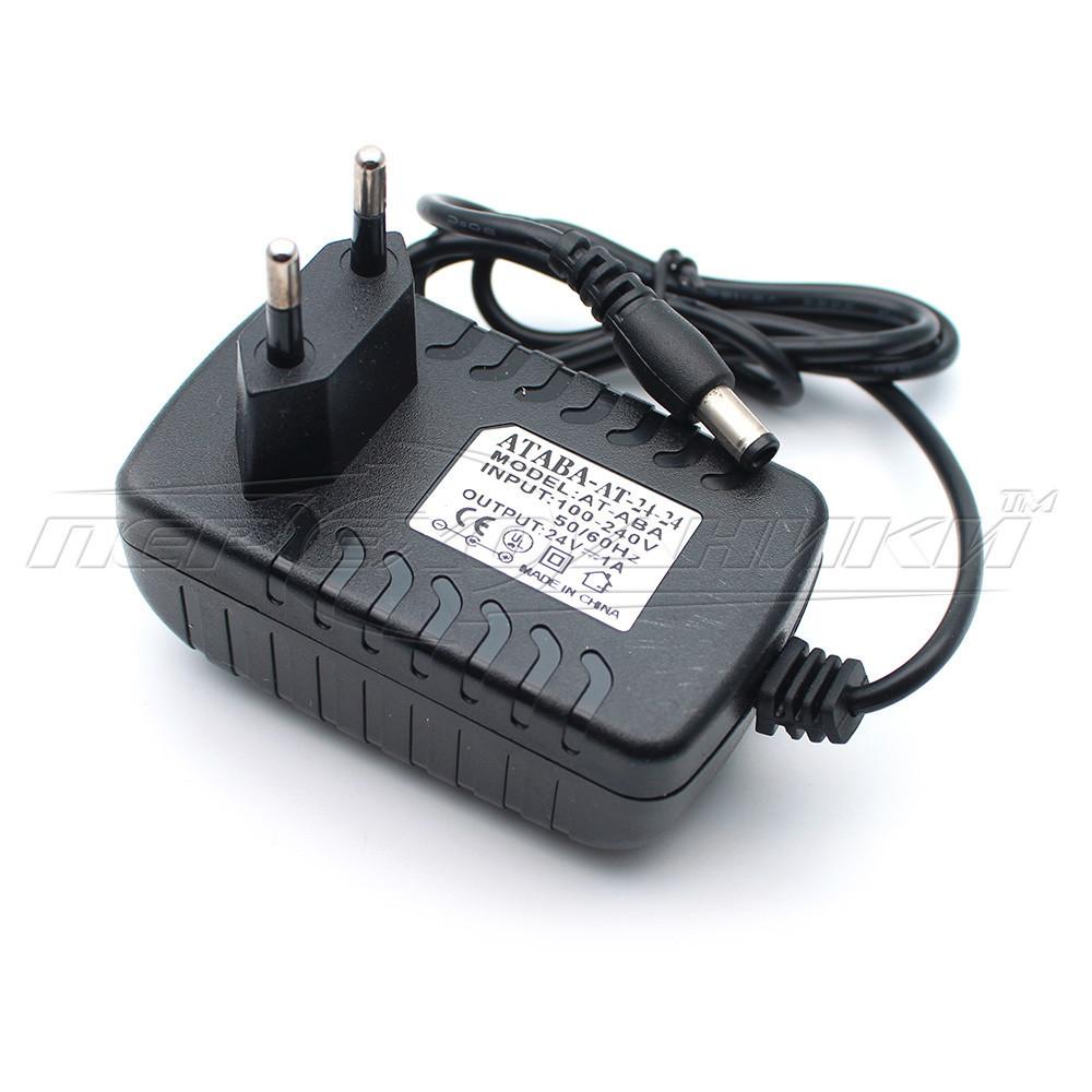 Импульсный блок питания 24V 1.5A (36Вт), штекер 5.5х2.5 мм, 1.2 м (хорошее качество)