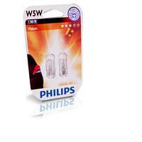Автомобильные лампы Philips w5w