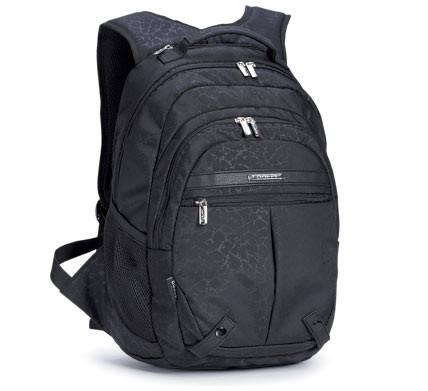 Классический молодежный рюкзак из прочной ткани с декором Dolly (Долли) 343