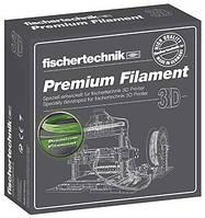 Нить для 3D принтера fisсhertechnik зеленый 500 грамм (коробка)  (FT-539136)