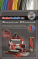 Нить для 3D принтера fisсhertechnik красный 50 грамм (полиэтиленовый пакет)  (FT-539131)