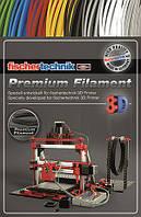 Нить для 3D принтера fisсhertechnik черный 50 грамм (полиэтиленовый пакет)  (FT-539124)
