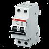 Миниатюрный автоматический выключатель ABB S202. 2P 10А (C) 6kA