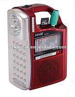 Фонарь с радио и USB NS-040