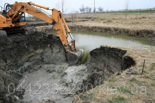 Строительство искусственных водоёмов, озер, прудов