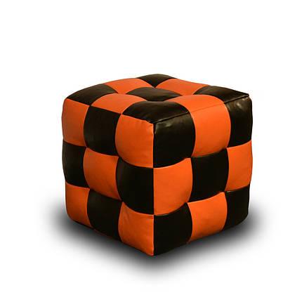 Пуфик Кубик Экокожа, фото 2