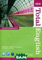 Araminta Crace New Total English: Pre-Intermediate: Students` Book with Active Book and Mylab Pack (+ CD)