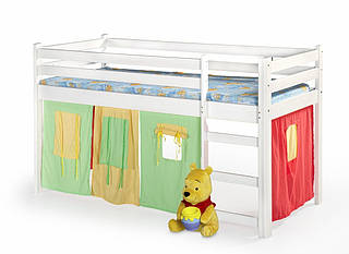 Детская кровать Neo белый (Halmar)