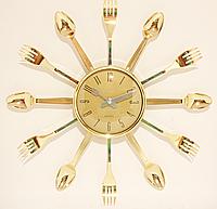 Часы настенные кухонные ( 380 мм )
