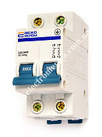 Автоматичний вимикач ВА-2001 2р 10А АСКО