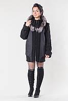 Пальто  Беатрис чорне, фото 1