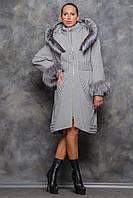 Пальто Карен сіре, фото 1