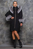 Пальто Карен чорне, фото 1