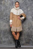 Пальто Марсель капучіно, фото 1