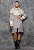 Пальто Марсель сіре, фото 1