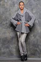 Пальто  Тіфані світло сіре, фото 1