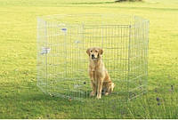 Savic ДОГ ПАРК (Dog Park) вольер для щенков, цинк, 8 панелей , 61Х107 см
