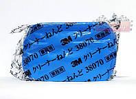 Очищающая абразивная глина 3M пластилин цвет: синий, 180гр.