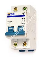 Автоматичний вимикач ВА-2001 2р 16А АСКО