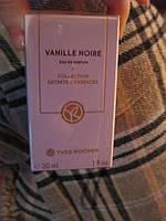 Парфумована Вода Vanille Noire черная ваниль духи ив роше 30 мл!YVES ROCHER оригинал франция запаяна