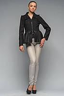 Пальто трансформер Ванда чорне, фото 1