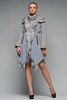 Пальто Гоа сіро-блакитне, фото 1