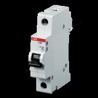 Миниатюрный автоматический выключатель ABB S201. 1P 16A (B) 6kA