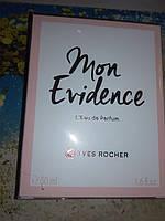 Mon Evidence Ив Роше парфюмированная вода духи 50 мл оригинал Mon Evidence мон эвиденс ФРАНЦИЯ
