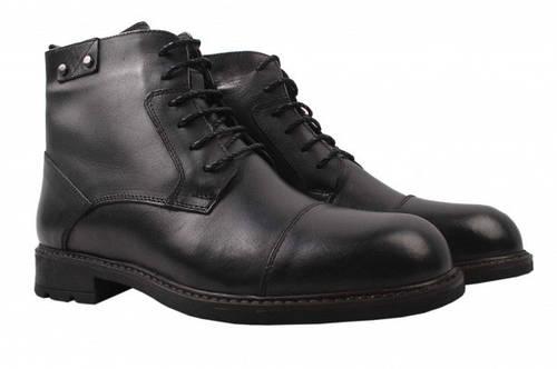 Ботинки Ridge натуральная кожа, цвет черный