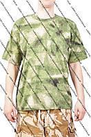 Камуфляжная футболка  для  туризма и рыбалки