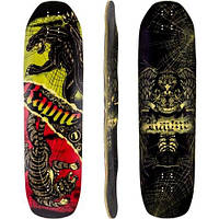 Дека лонгборд Rayne 2014 Brightside Longboard Skateboard Deck w/ Grip