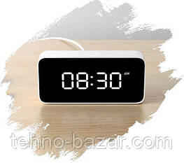 Умный будильник Xiaomi Xiao AI Smart Alarm Clock White