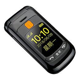 Мобильный телефон Gzone F899 Flip Black Touch dual screen 2800 мАч