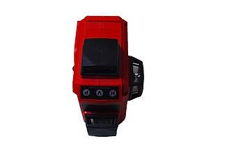 Лазерный уровень нивелир 3D 12 линий со штативом 5178, красный
