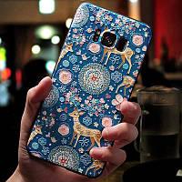 Чехол для смартфона Samsung Galaxy M20 с текстурным рисунком