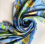 Палантин из вискозы 10811-13, павлопосадский палантин из вискозы, размер 65х200, фото 5