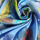 Палантин из вискозы 10811-13, павлопосадский палантин из вискозы, размер 65х200, фото 7