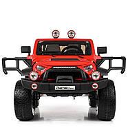 Детский электромобиль Джип M 4111EBLR-3 красный Гарантия качества Быстрая доставка, фото 3