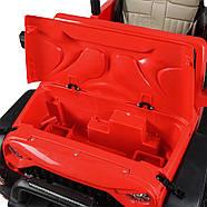 Детский электромобиль Джип M 4111EBLR-3 красный Гарантия качества Быстрая доставка, фото 7