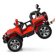 Детский электромобиль Джип M 4111EBLR-3 красный Гарантия качества Быстрая доставка, фото 2