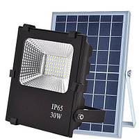 VARGO!Уличный LED светильник (прожектор) SX-30W на солнечных батареях