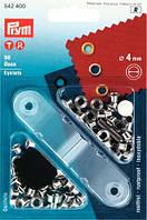 Люверсы (латунь) серебристые,d-4,0 мм,Prym