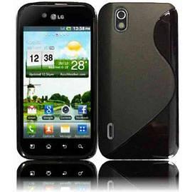 Чехол на LG Optimus Black P970 TPU S формы, Черный