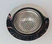 Сетка для раковины EM1278, нержавейка, диаметр общий 114 мм