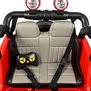 Детский электромобиль Джип M 4111EBLR-1 белый Гарантия качества Быстрая доставка, фото 5