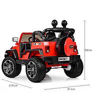 Детский электромобиль Джип M 4111EBLR-1 белый Гарантия качества Быстрая доставка, фото 8